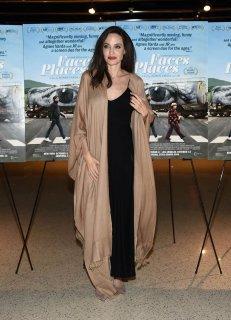 Angelina Jolie in Ryan Roche Spring 2016-2