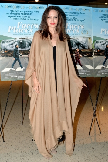 Angelina Jolie in Ryan Roche Spring 2016-3