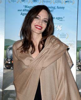 Angelina Jolie in Ryan Roche Spring 2016-4