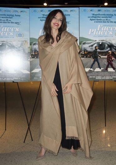 Angelina Jolie in Ryan Roche Spring 2016-5