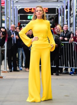 Blake Lively in Brandon Maxwell Spring 2018