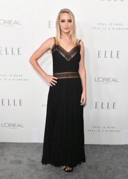 Jennifer Lawrence in Dior Spring 2018