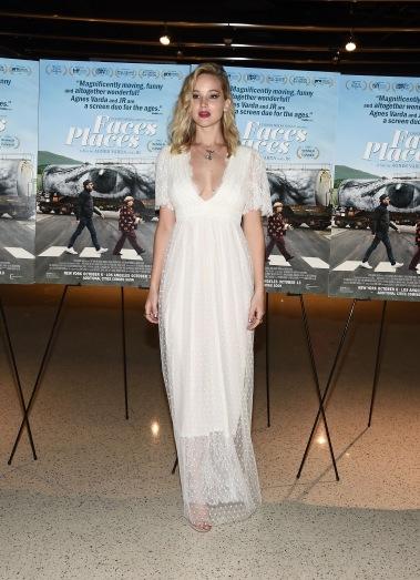 Jennifer Lawrence in L Wells Bridal Spring 2018-6