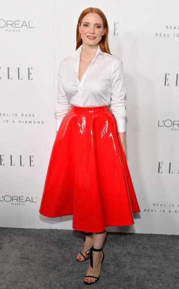 Jessica Chastain in Calvin Klein-2