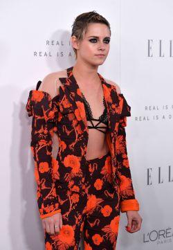 Kristen Stewart in Antonio Berardi Resort 2018-2