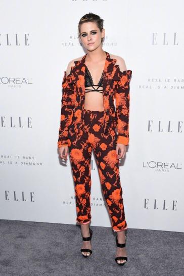 Kristen Stewart in Antonio Berardi Resort 2018