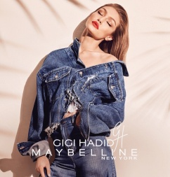 Maybelline Gigi Hadid Makeup Collection Campaign-2