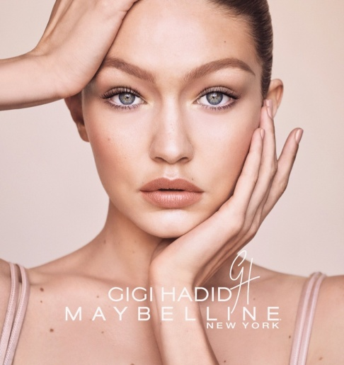 Maybelline Gigi Hadid Makeup Collection Campaign-4