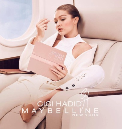 Maybelline Gigi Hadid Makeup Collection Campaign-6