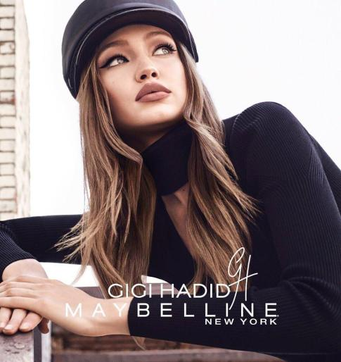 Maybelline Gigi Hadid Makeup Collection Campaign-7
