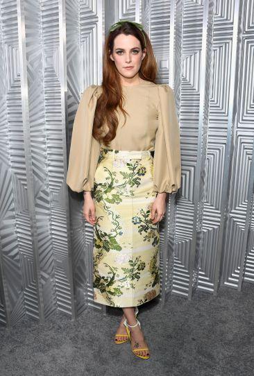 Riley Keough in Calvin Klein Fall 2017-1