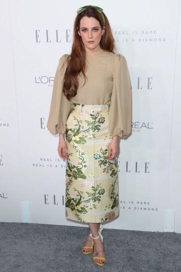 Riley Keough in Calvin Klein Fall 2017