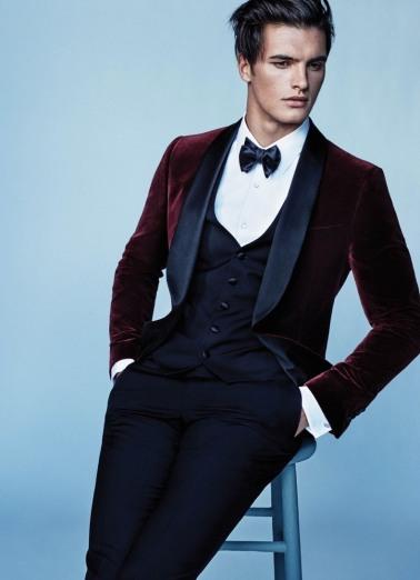 Salvatore Ferragamo Velvet Suit