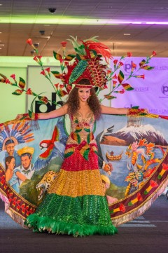2017 Miss Universe National Costume-Bolivia