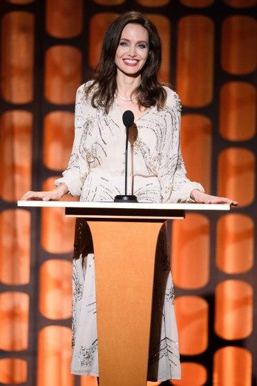 Angelina Jolie in Elisabetta Franchi Fall 2017-1