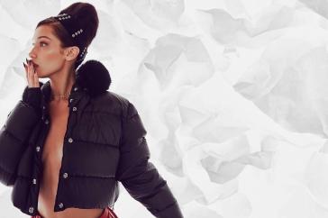 Bella Hadid Chrome Hearts Collaboration Campaign-6