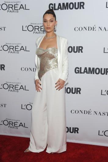 Bella Hadid in Cristina Ottaviano Spring 2018-1