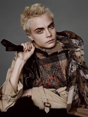 Cara Delevingne Burberry 2017 Holiday Campaign-4