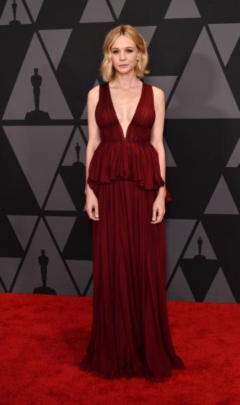 Carey Mulligan in Giambattista Valli Fall 2017 Couture