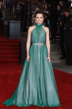 Daisy Ridley in Vivienne Westwood