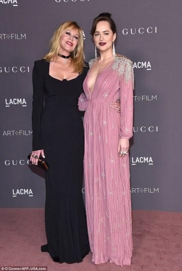 Dakota Johnson in Gucci Spring 2018-2