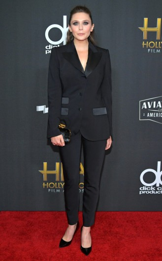 Elizabeth Olsen in Dolce & Gabbana