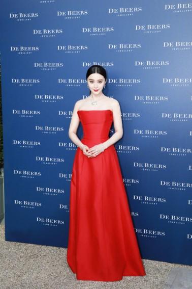 Fan Bingbing in Alberta Ferretti Spring 2017 Couture-4