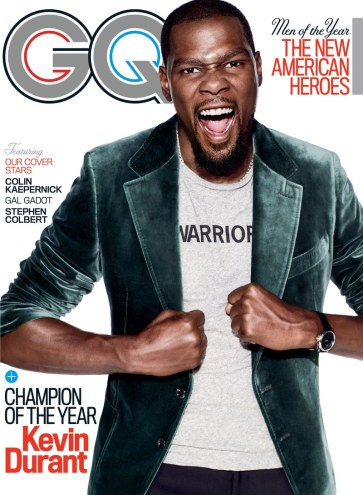 GQ US December 2017 Cover-Kevin Durant
