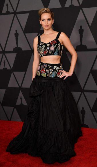 Jennifer Lawrence in Alexander McQueen Resort 2018-3