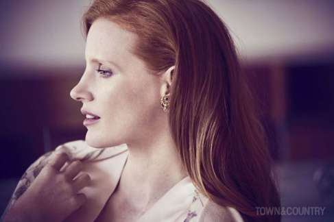 Jessica Chastain Town&Country December 2017 January 2018-4