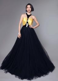 Jolin Tsai in Ralph Lauren Fall 2017-1