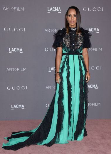 Kerry Washington in Gucci