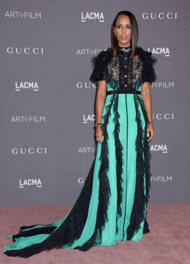 Kerry Washington in Gucci