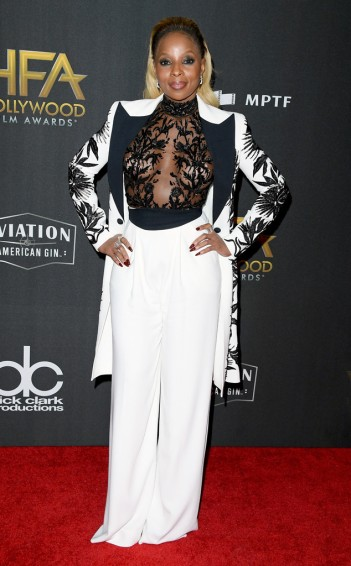 Mary J. Blige in Zuhair Murad Fall 2017 Couture