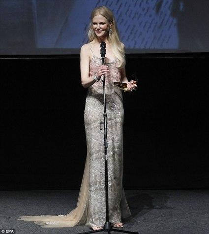 Nicole Kidman in Ermanno Scervino Spring 2018-2