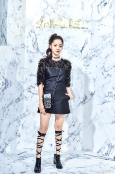 Ou Yang Nana in Chanel Fall 2017