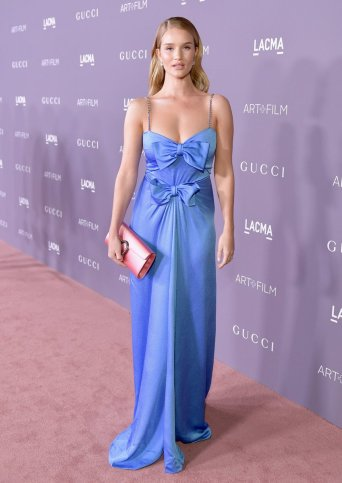 Rosie Huntington-Whiteley in Gucci Resort 2018