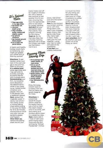 Ryan Reynolds X Good Housekeeping Magazine 2017-2