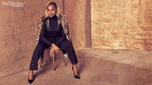The Hollywood Reporter November 2017-Mary J. Blige