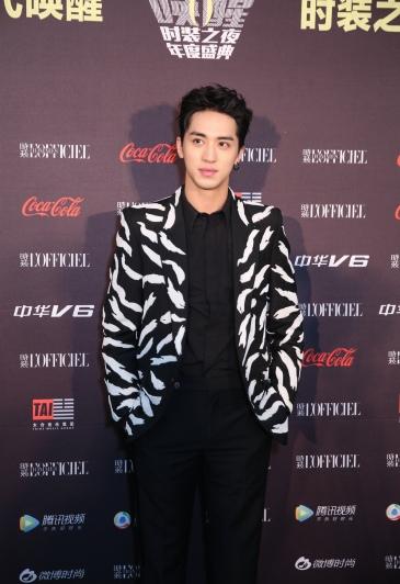 Xu Wei Zhou in Givenchy Spring 2018-1