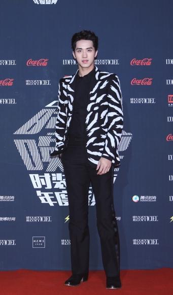 Xu Wei Zhou in Givenchy Spring 2018
