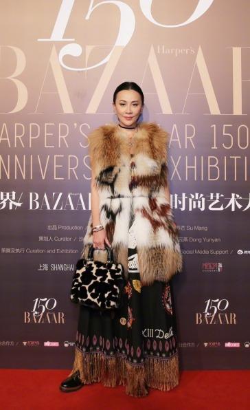 Carina Lau in Dior Resort 2018