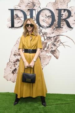 Celine Dion in Dior Resort 2018