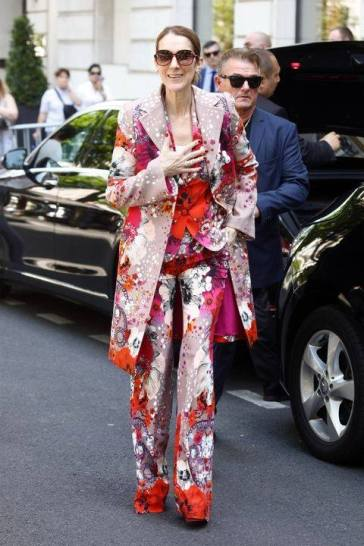 Celine Dion in Roberto Cavalli