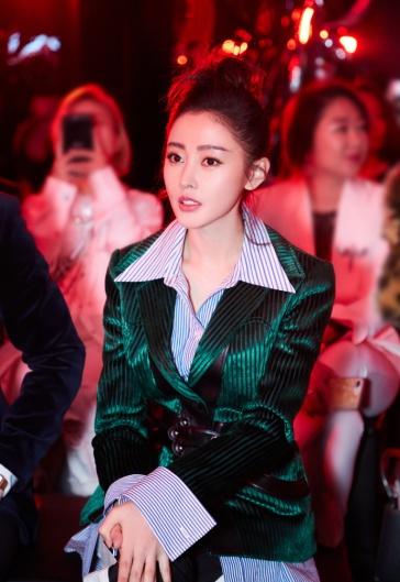 Crystal Zhang in Louis Vuitton Resort 2018-2