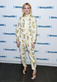 Elle Fanning in Miu Miu Resort 2018