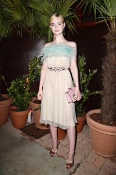 Elle Fanning in Prada Spring 2017