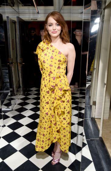 Emma Stone in Gucci Spring 2017
