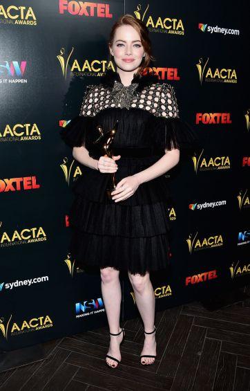 Emma Stone in Gucci