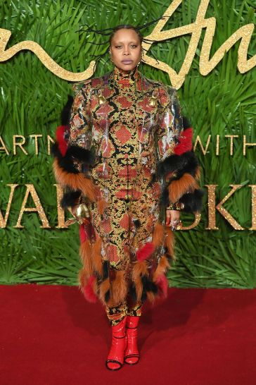 Erykah Badu in Gucci